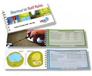 Schwartz Projects Shortcut Books publications Shortcut Guide to Golf Rules book